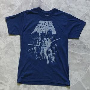 2/$20 STAR WARS blue tshirt